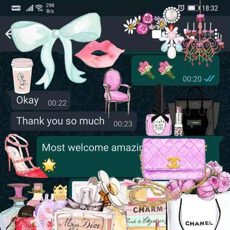 在五月二十二号二零二一年,一位客户感激我们的服务:)On 22nd May 2021, a client thanked our service ❤